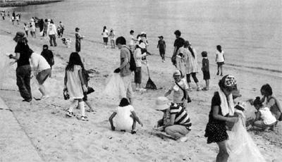 玄洋校区子ども会育成会 海岸清掃