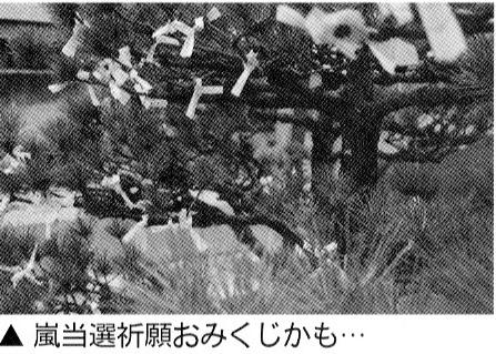 二宮神社で嵐チケット当選を!!